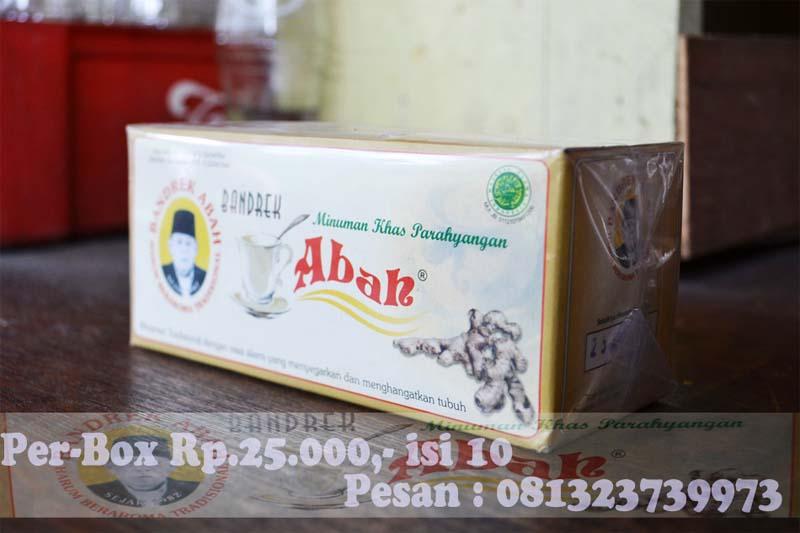 Bandrek Abah Ciwidey - Kemasan Kotak