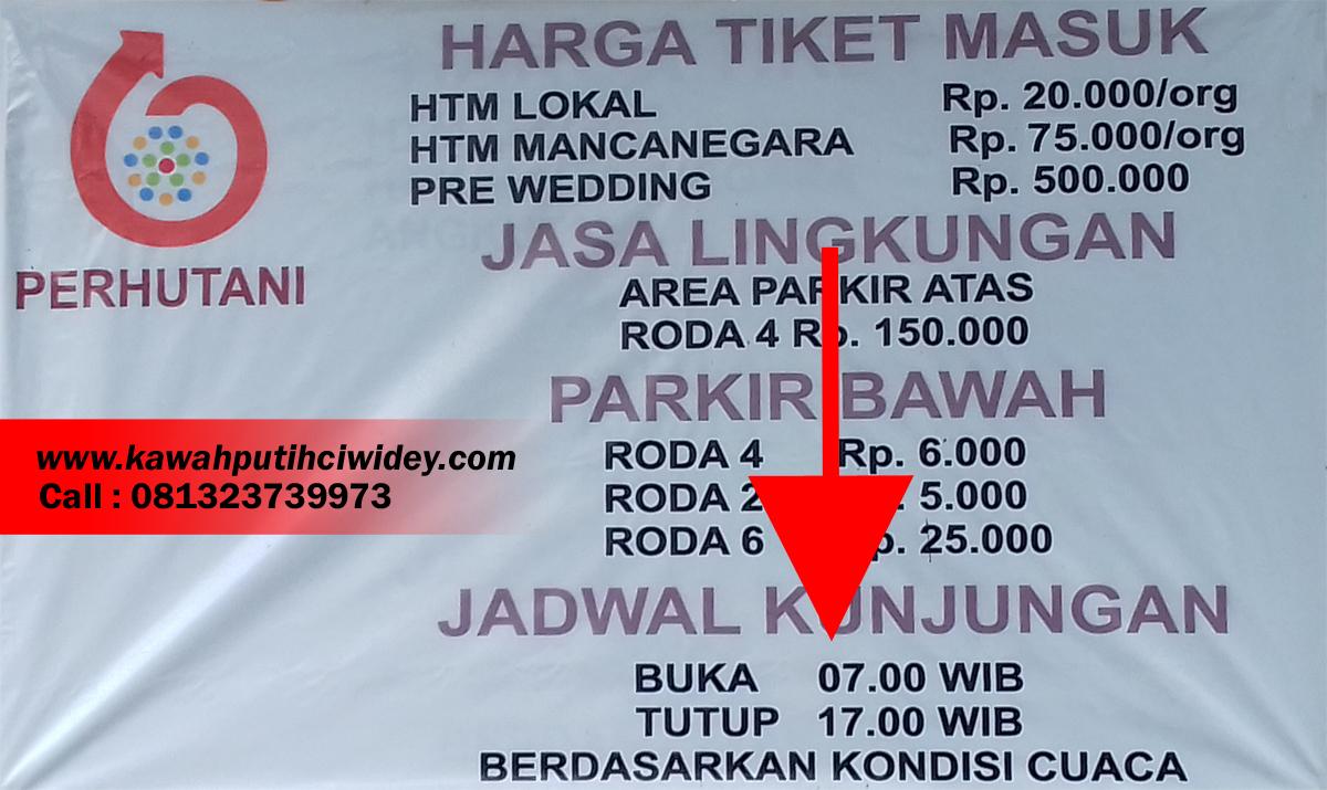 Kawah Putih Ciwidey Bandung, Lokasi, Tiket Masuk - KawahPutihCiwidey.Com